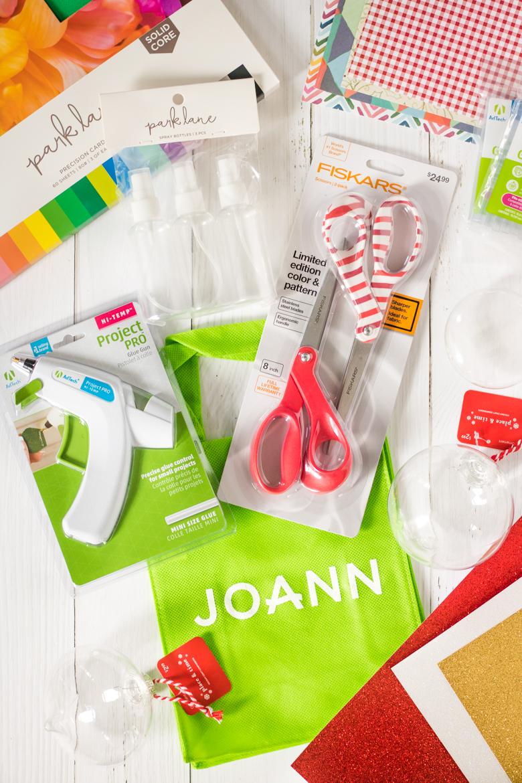 Craft supplies from Joann