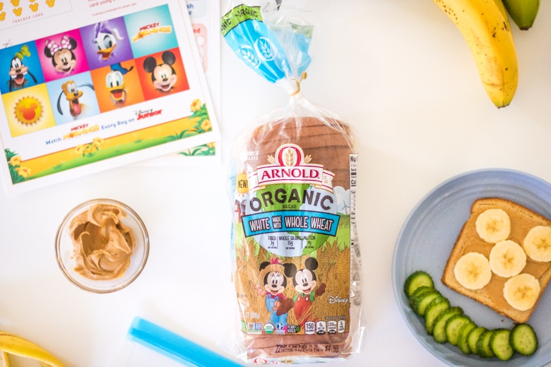 Disney Mickey Mouse Bread for Kids