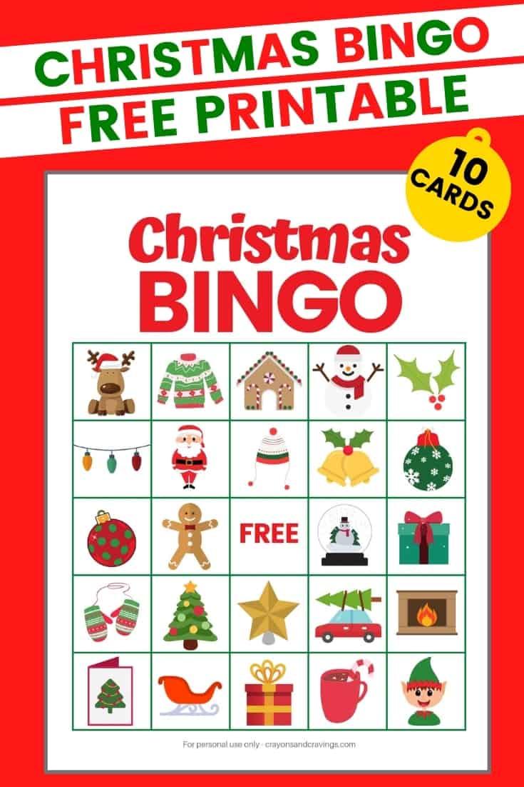 Christmas Bingo Free Printable