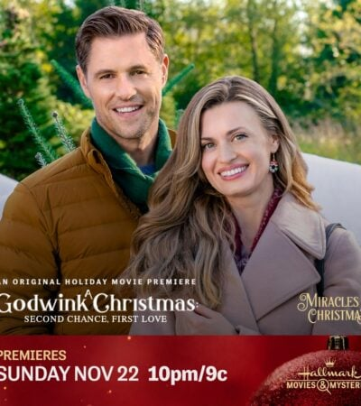 "Hallmark Movies & Mysteries original premiere of ""A Godwink Christmas: Second Chance, First Love"""