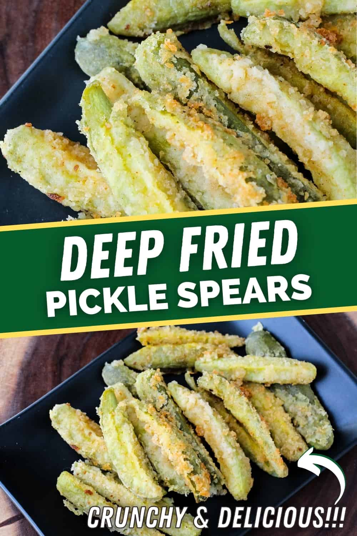 Deep Fried Pickle Spears