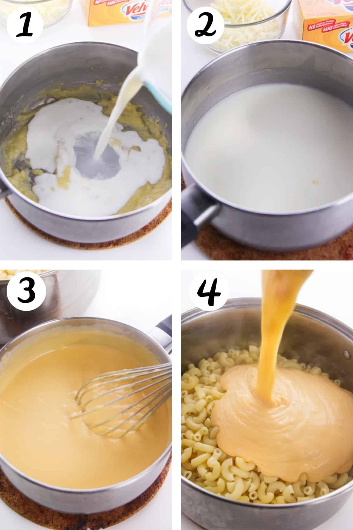 How to Make Macaroni and cheese on stovetop