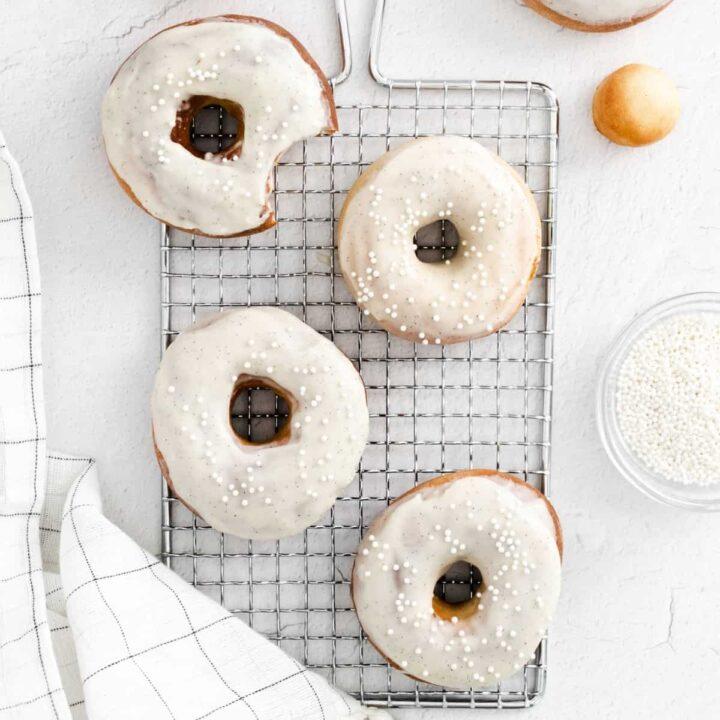 Air Fryer Donuts from Scratch
