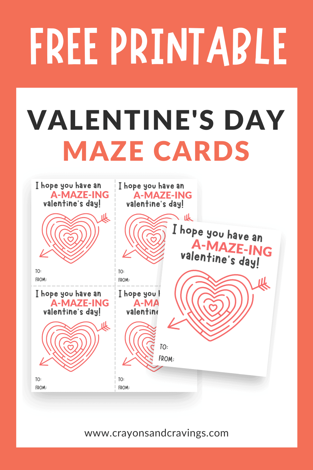 Free Printable Maze Cards