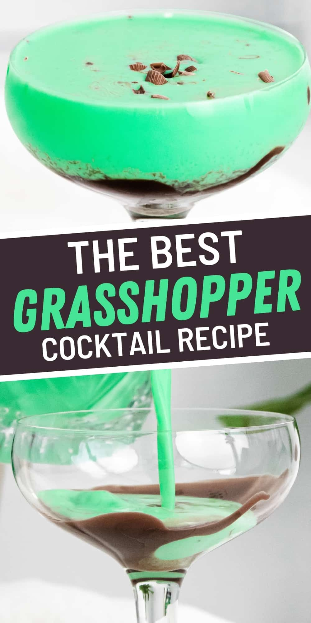 The Best Grasshopper Cocktail Recipe
