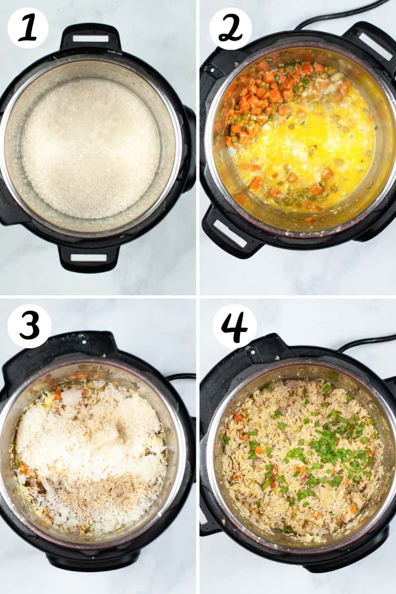 How to Make Chicken Fried Rice in the Instant Pot