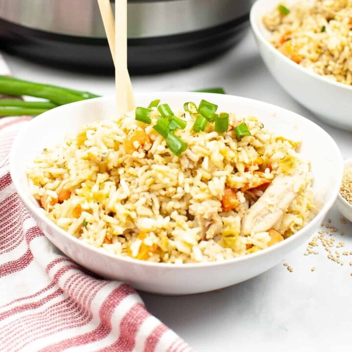 tant Pot Chicken Fried Rice Recipe