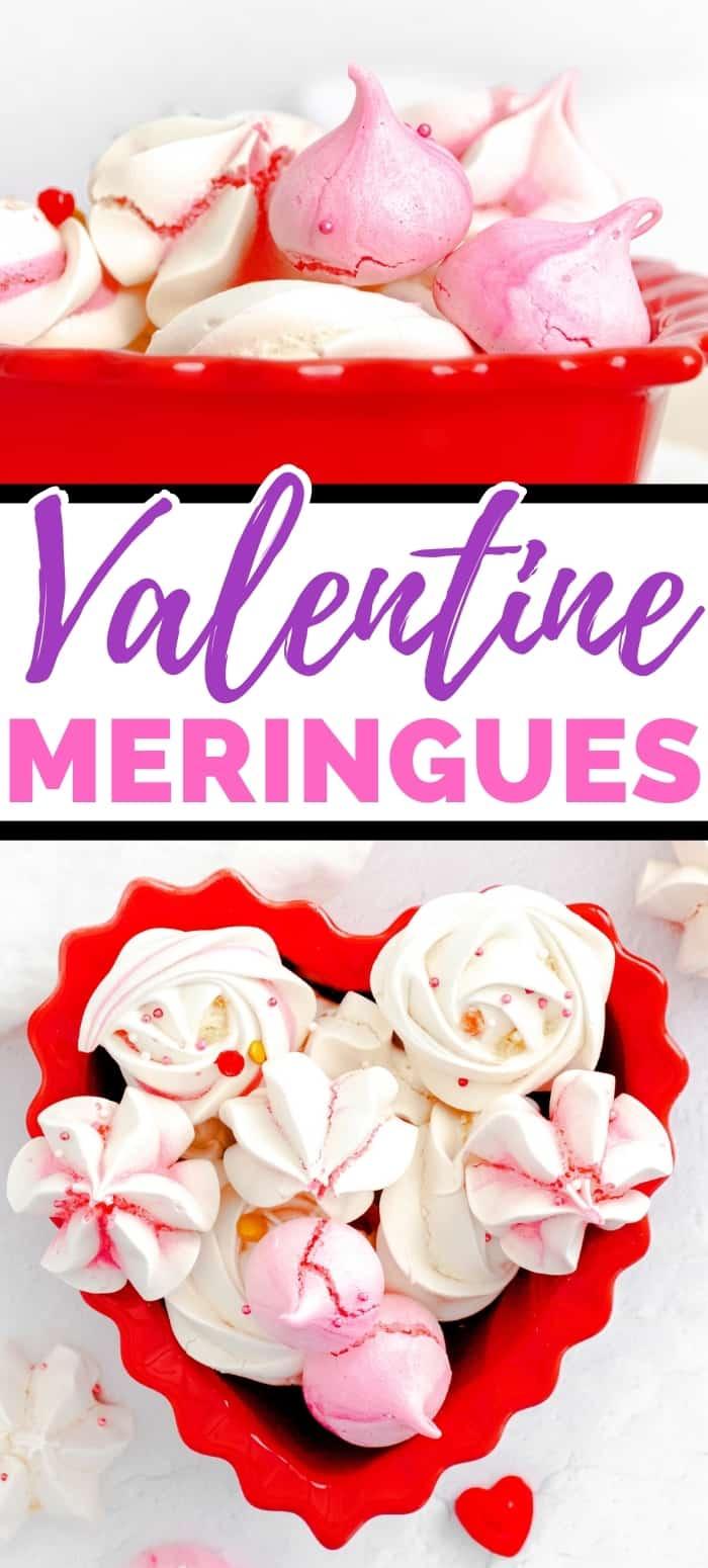 Valentine Meringues