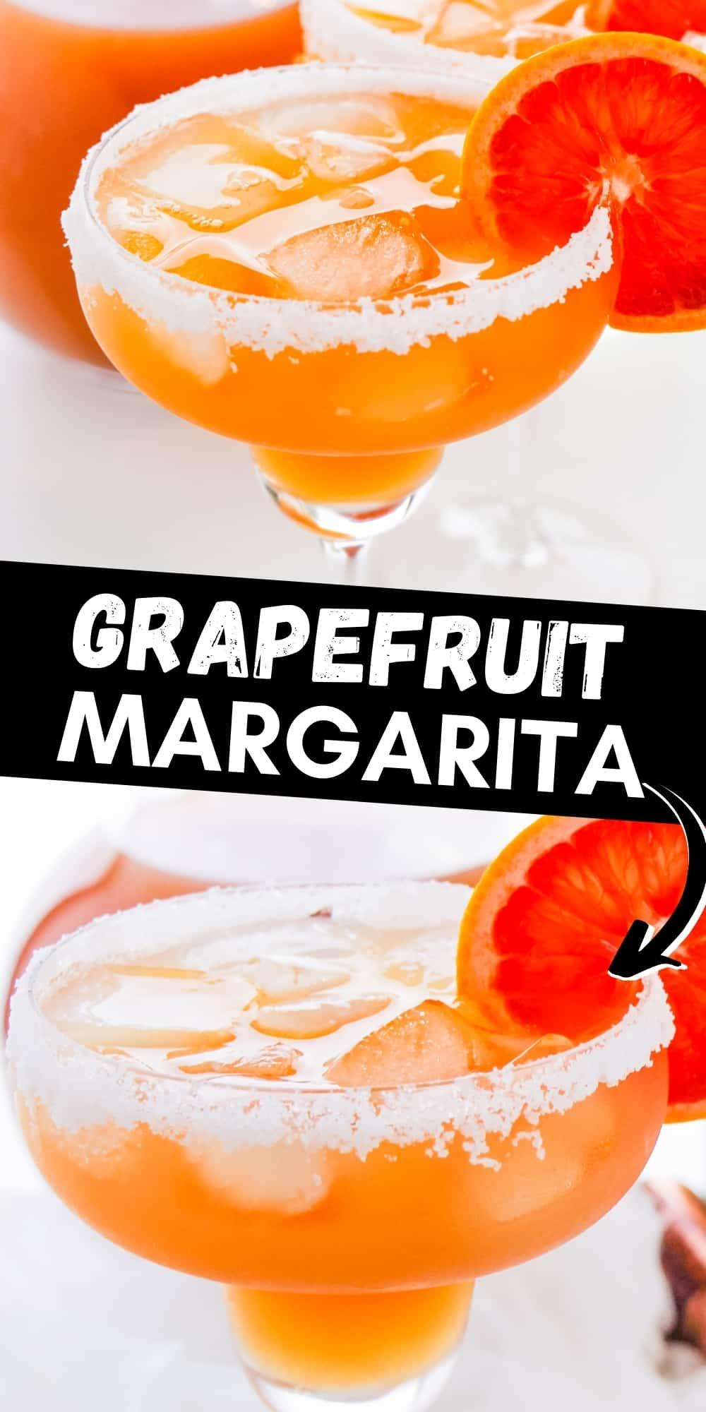 Grapefruit Margarita Pinterest Image