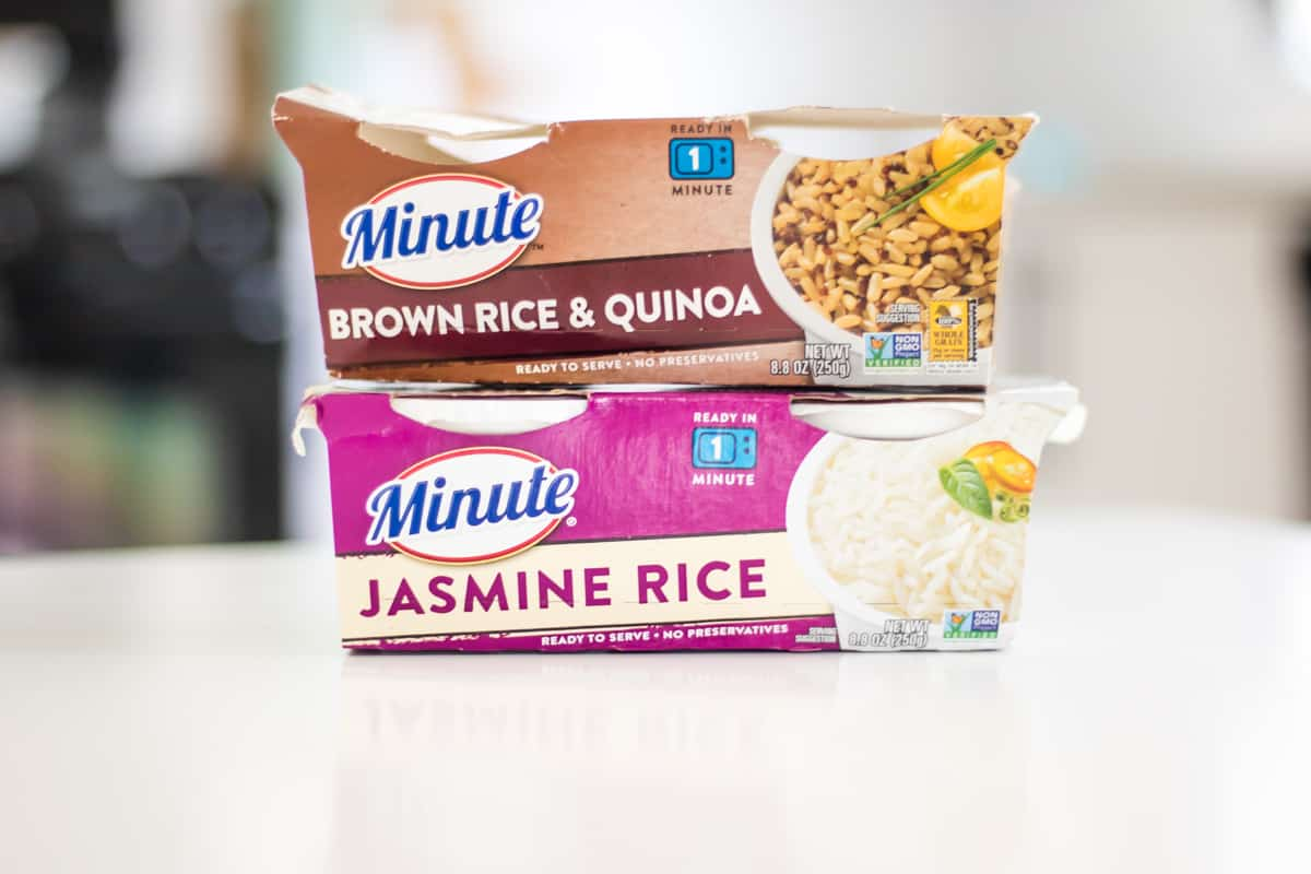Ready To Serve Rice from Minute Rice, in Brown Rice and Quinoa and Jasmine Rice Varities